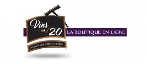Logo Vins sur 20 boutique en ligne