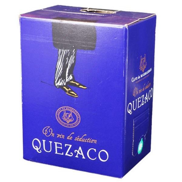 côtes du marmandais, bag in box, 5 et 10 litres, quezaco rouge