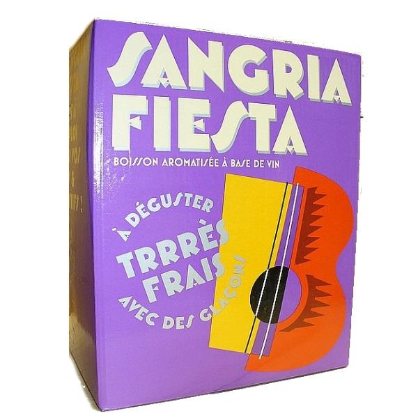 bag in box 3 litres, sangria, fiesta