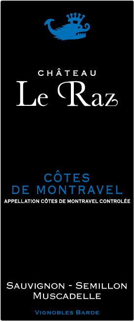 Cotes de Montravel barde Château le raz