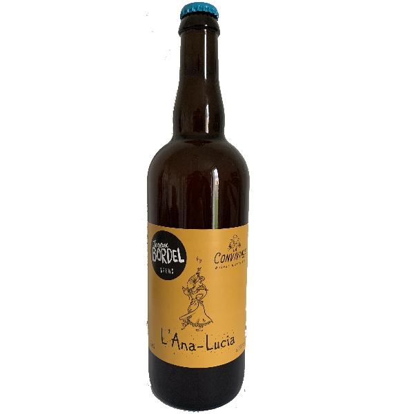 Bière L'Ana-Lucia du groupe JOYEUX BORDEL Brasserie Conviviale