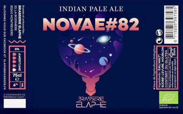 élaphe IPA novae#82