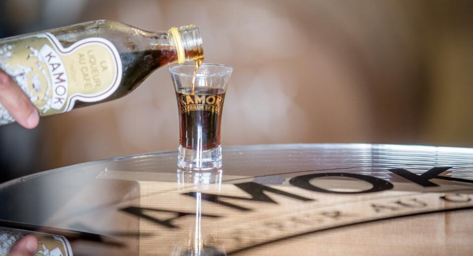 kamok liqueur café vrignaud cave landaise
