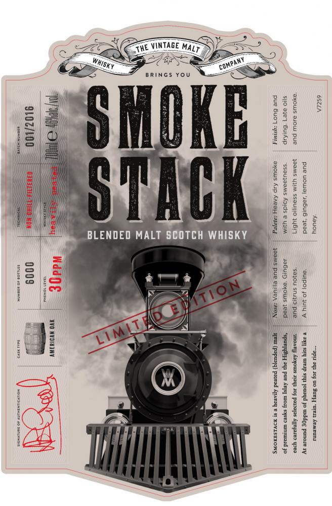 smokestack scotch whisky cave landaise