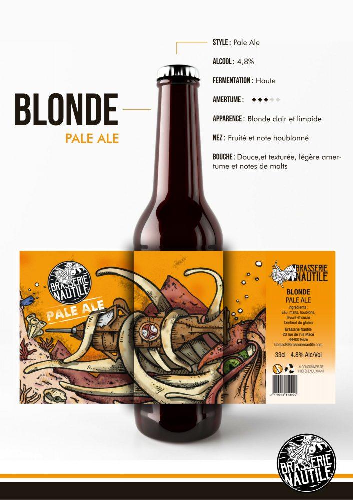 bière blonde pale ale nautile brasserie