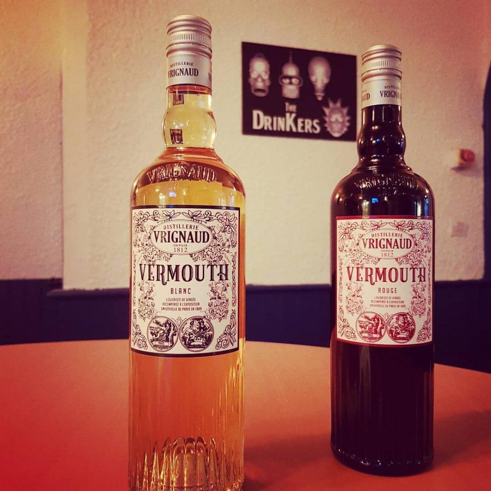 vermouth blanc et rouge distillerie vrignaud